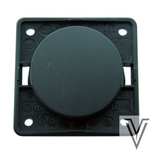 INTERRUPTOR MOVIL-R UNIPOLAR - NEGRO
