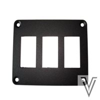 PANEL DE MONTAJE PARA 3 INTERRUPTORES 3130 Y 1120 88X65MM
