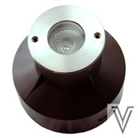 SPOT HI POWER LED-1X3W-RGB-24VDC