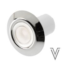"LUZ CORTESIA IP65 ""GOTLAND"" ALUMINIO-LED BLANCO CALIDO-12/24V"