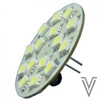LAMPARA G4 15LEDS VERTICAL-BLANCO FRIO