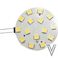 LAMPARA G4 15LEDS HORIZONTAL-BLANCO DIA