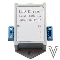 DRIVER INPUT:12-24VDC OUTPUT:11VDC-1A