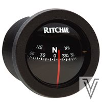 "X21BB-COMPAS RITCHIE SPORT 2"" FRONTAL-NEGRO"