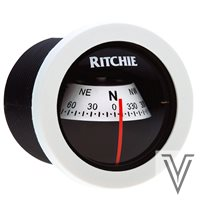 "X21WW-COMPAS RITCHIE SPORT 2"" FRONTAL-BLANCO"