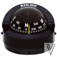 "S53-COMPAS RITCHIE EXPLORER 2 3/4"" SUPERFICIE-NEGRO"