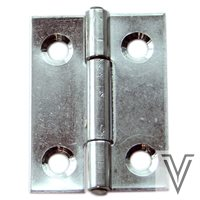 BISAGRA SIN REMATES 30 X 20 X 0.8MM -INOX